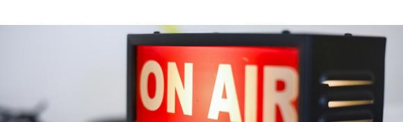 ラジオ収録の様子